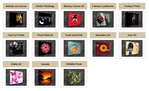Visit Art Gallery for original canvas art